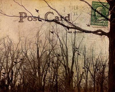 Postal Birds Art Print