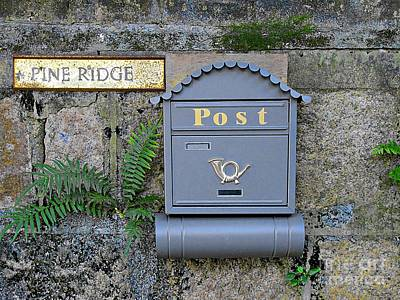 Photograph - Postbox by Ethna Gillespie