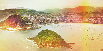 Photograph - Postcard From Donosti by Am2photo