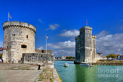 Nicolas Photograph - Postcard From La Rochelle by Olivier Le Queinec
