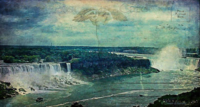 Through The Viewfinder - Postcard...Impressions of Niagara by Lianne Schneider