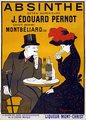 Drawing - Poster Absinthe, C1903 by Granger