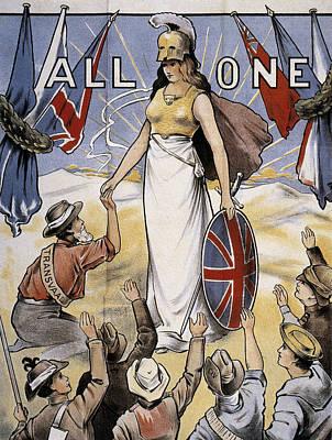 Poster All One, 1900 Art Print by Granger