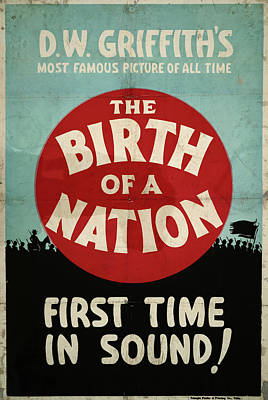 Poster Birth Of A Nation Art Print