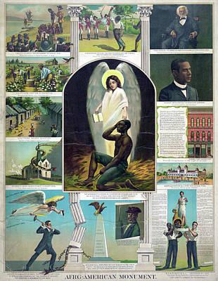 Douglass Drawing - Poster Black History, C1897 by Granger