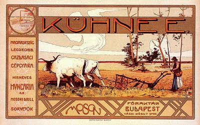 Affiche Drawing - Poster For La Maison Kühnee by Liszt Collection