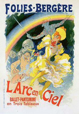 Arc-en-ciel Painting - Poster For Larc-en-ciel by Liszt Collection