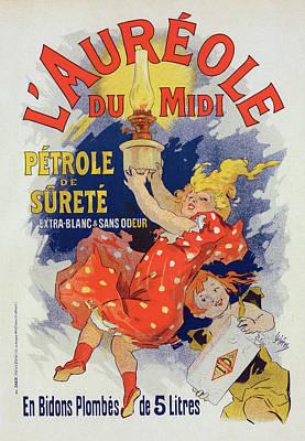 Poster For Lauréole Du Midi. Chéret, Jules Art Print by Liszt Collection