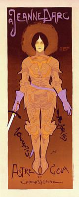 Affiche Drawing - Poster For Le Magasin De Nouveautés A Jeanne Darc by Liszt Collection