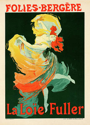 Folies Bergere Painting - Poster For Les Folies-bergère by Liszt Collection