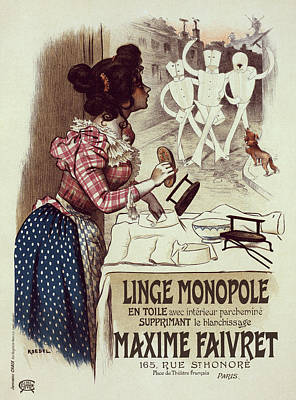 Poster For Linge Monopole Art Print