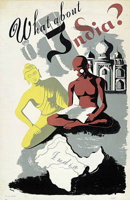 Poster India, C1943 Print by Granger