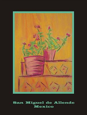 Poster - Orange Geranium Art Print by Marcia Meade