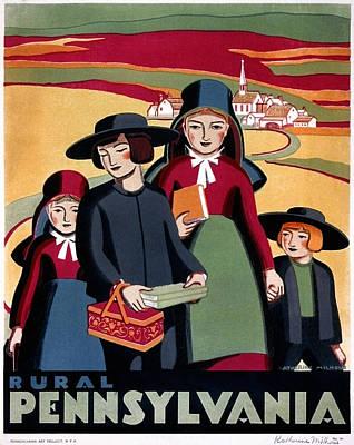 Poster Pennsylvania, C1938 Art Print