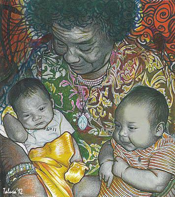 Baby Digital Art - Posterity by Teleita Alusa
