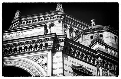 Photograph - Postfuhramt Details by John Rizzuto