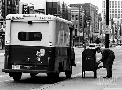 Photograph - Postman by Tom Brickhouse