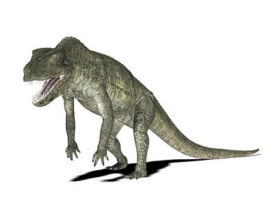 Paleozoology Photograph - Postosuchus Dinosaur by Friedrich Saurer