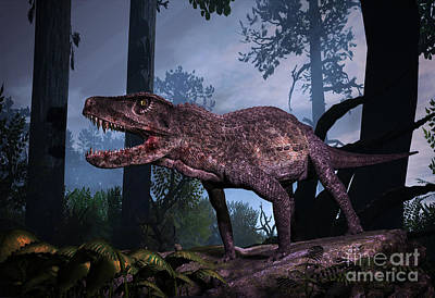Postosuchus Was An Extinct Rauisuchian Art Print