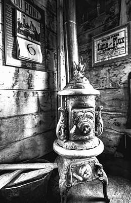 Photograph - Pot Belly Stove by Al Reiner