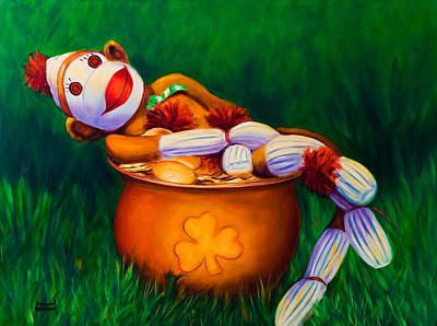 Painting - Pot O Gold by Shannon Grissom