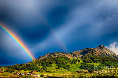 Pot Of Gold - Crested Butte Colorado Art Print