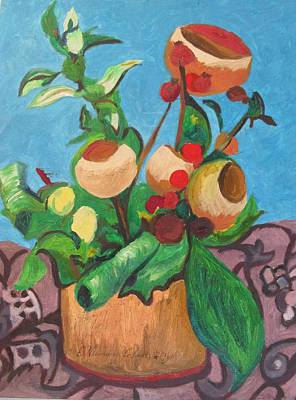 Painting - Pot Pourri by Esther Newman-Cohen