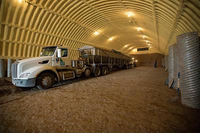 Food Stores Photograph - Potato Farming by Jim West