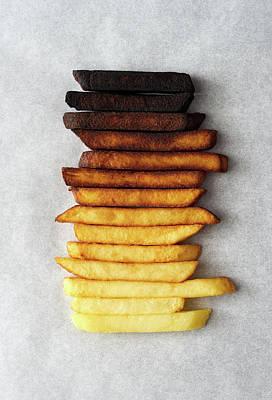 Rare Wall Art - Photograph - Potato Gradient by Aleksandrova Karina