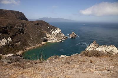 Santa Cruz Island Photograph - Potato Harbor by Amanda Barcon