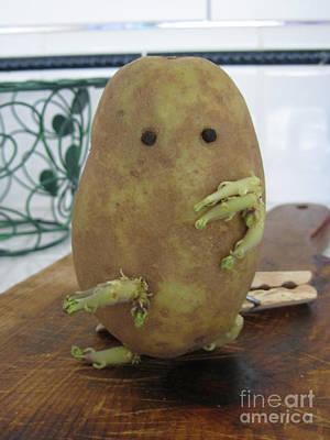 Potato Man Art Print