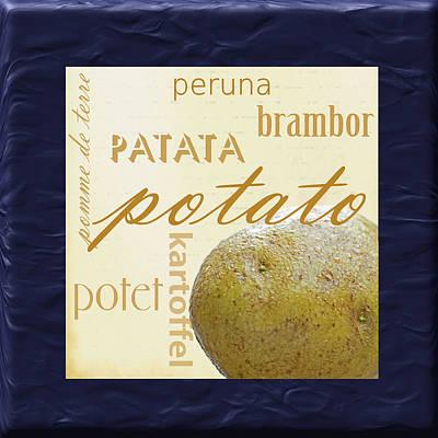 Translate Digital Art - Potato by Marti Snider