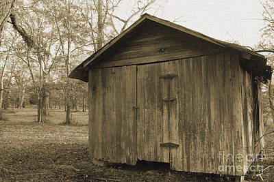 Photograph - Potato Shed by Russell Christie