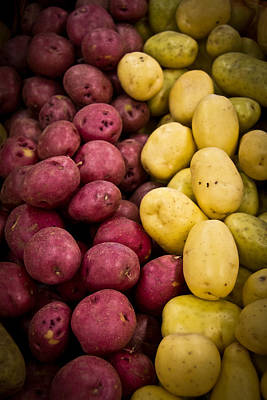 Potatoes Art Print by Aaron Berg