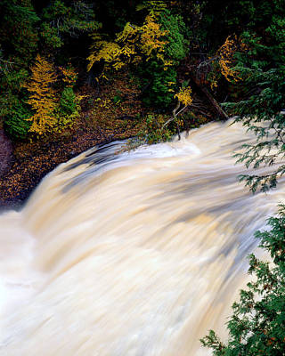 Potawatami Falls Art Print by Tim Hawkins