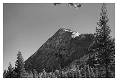 Pothole Dome In Yosemite Art Print