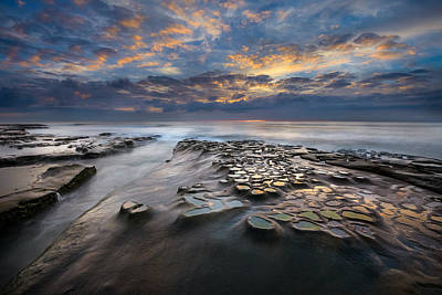 Photograph - Pothole Sunset by Alexander Kunz