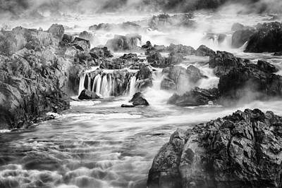 Great Falls Photograph - Potomac Mist by Mike Lang