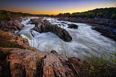 Photograph - Potomac Rush by Neil Shapiro