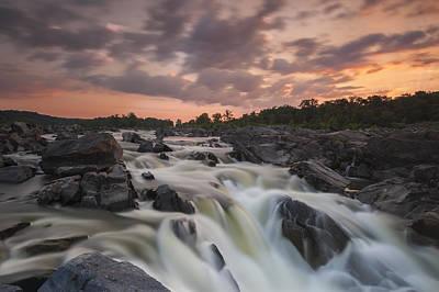 Great Falls Photograph - Potomac Sunrise by Joseph Rossbach