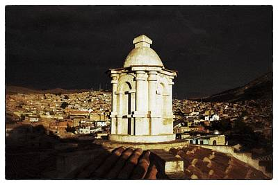 Potosi Church Dome Vintage Art Print by For Ninety One Days