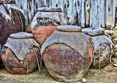 Photograph - Pots by Karen Walzer