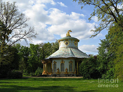 Potsdam The Chinese House Art Print by Kiril Stanchev