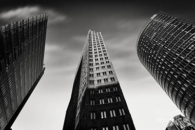 Black Commerce Photograph - Potsdamer Platz 2 by Rod McLean