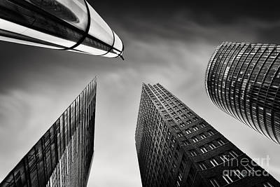 Black Commerce Photograph - Potsdamer Platz 3 by Rod McLean