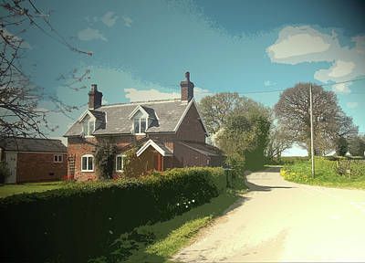 Potters Farm, Situated On Bowling Alley Lane Roughly Midway Art Print