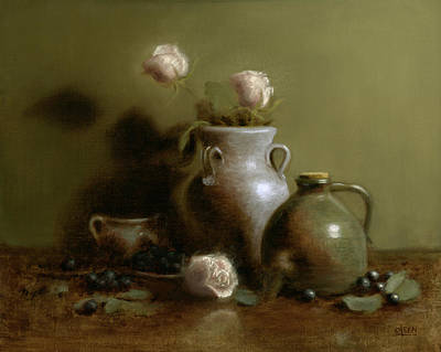 Pottery Collection. Art Print