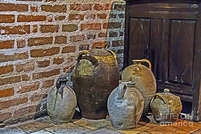 Photograph - Pottery Corner by Elvis Vaughn