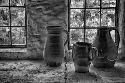 Photograph - Pottery by Inge Riis McDonald