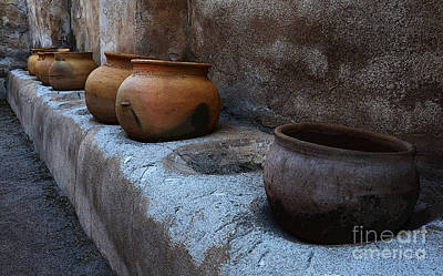 Photograph - Pottery Mission San Jose De Tumacacori 2 by Bob Christopher